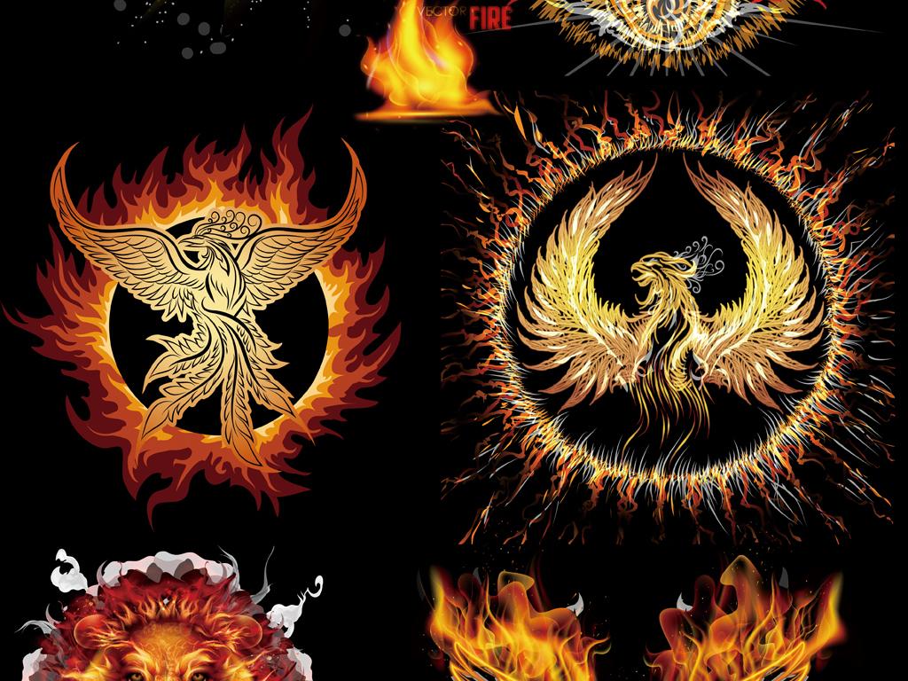 图剪影手绘矢量图免抠图海报展板高清高清晰素材火焰免抠素材素材火