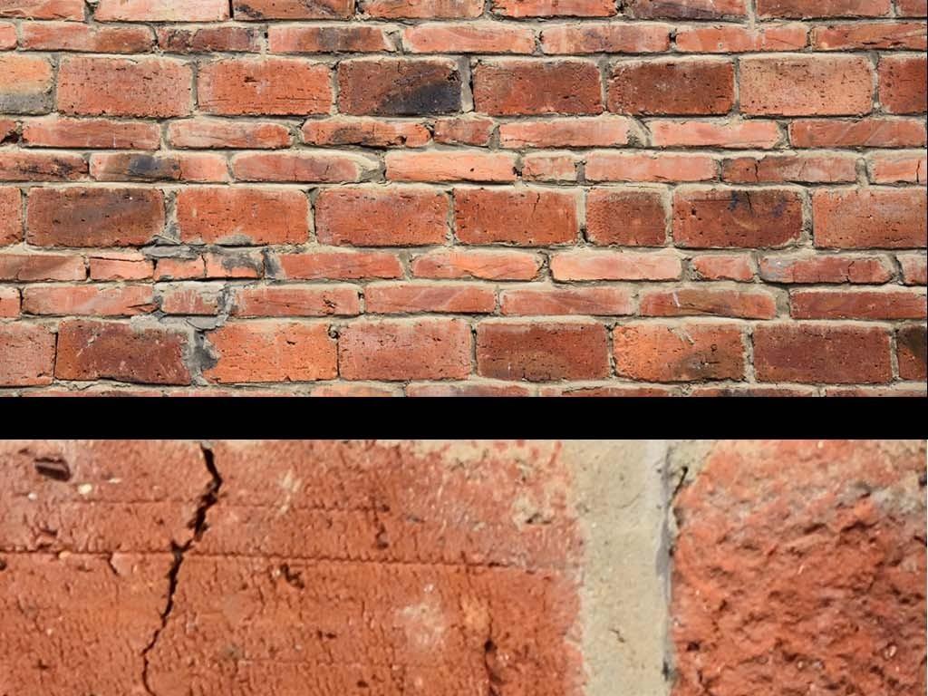 复古怀旧红砖背景墙