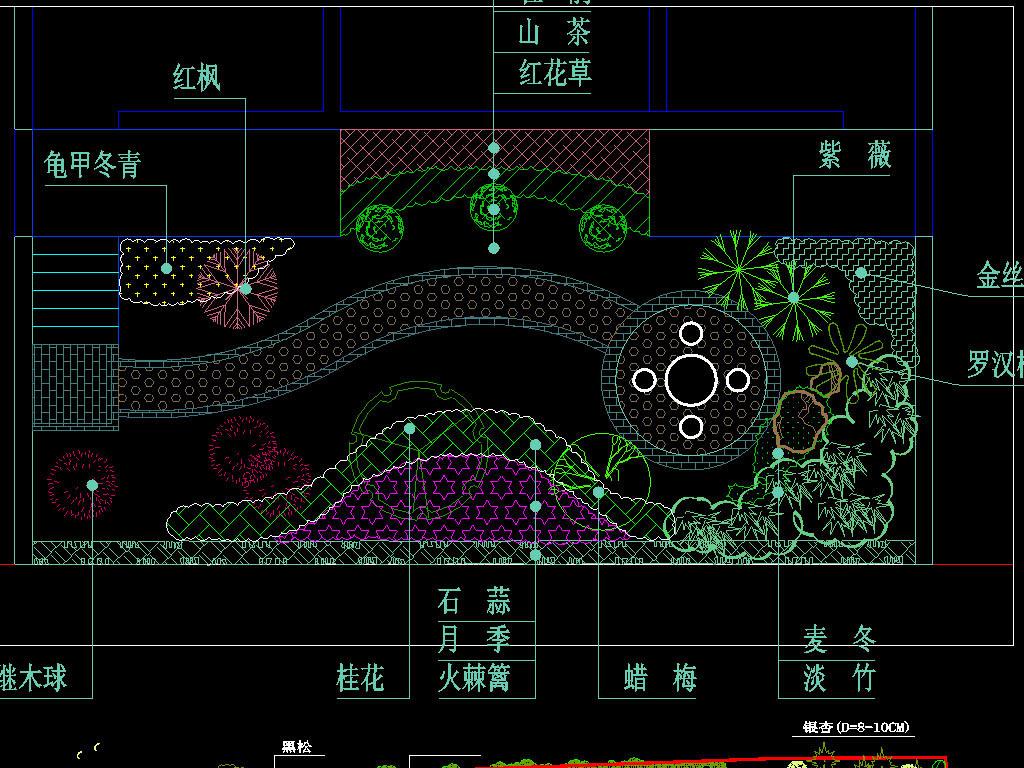 多套庭院绿化景观图平面设计图下载 图片2.91MB CAD图纸大全 室内