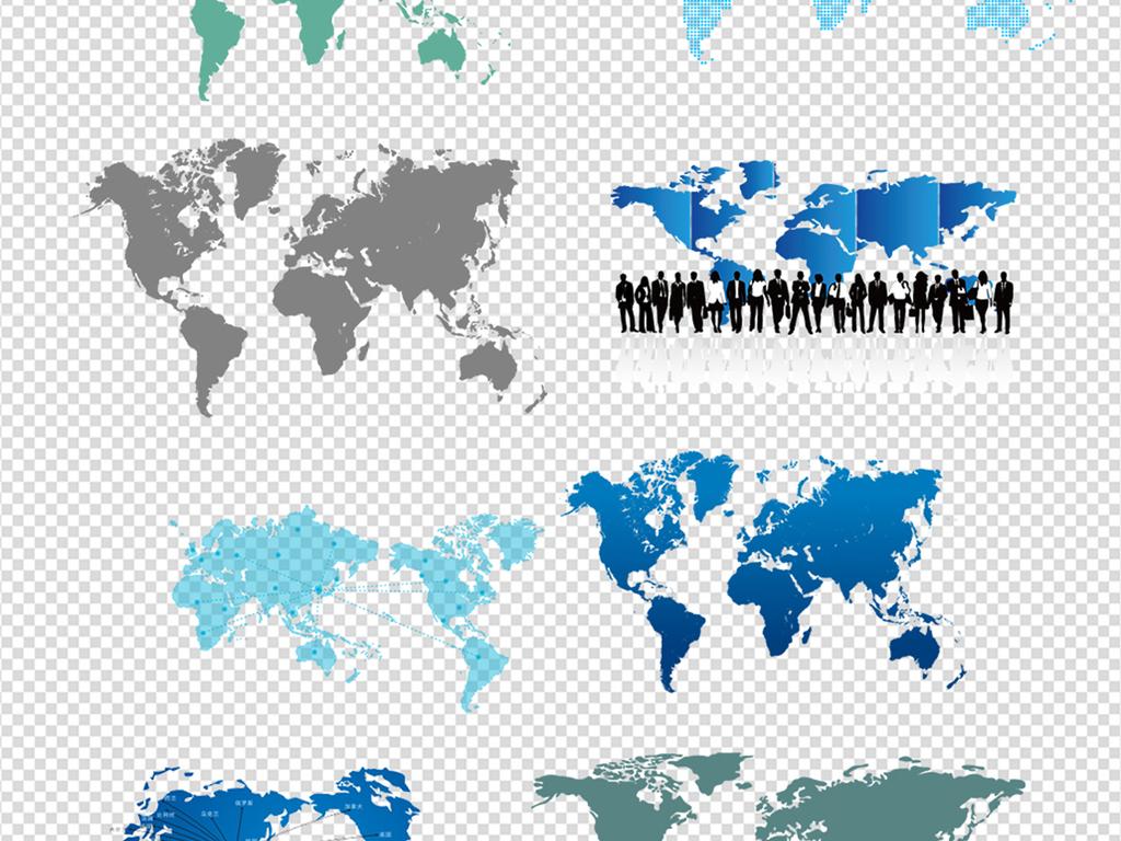 世界素材矢量世界地图世界地图素材手绘