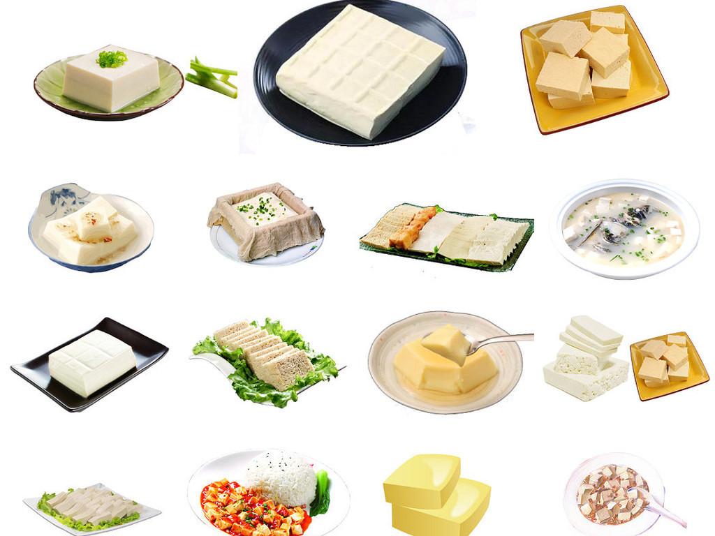 美食豆腐海报设计素材