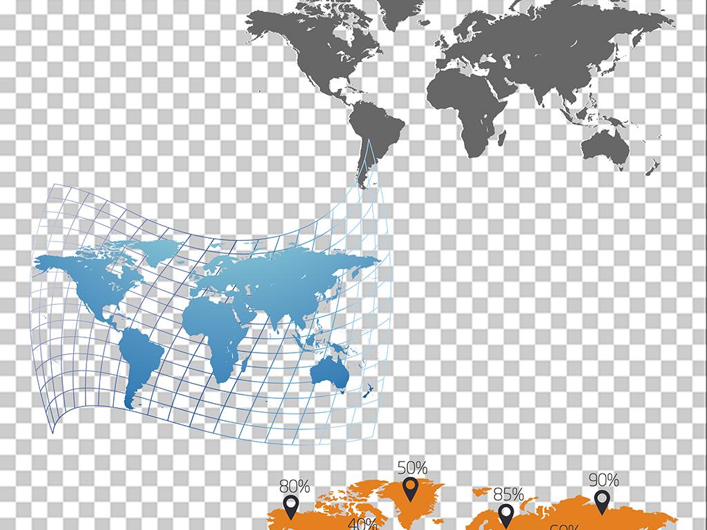 高清地图素材地图png免扣图片素材