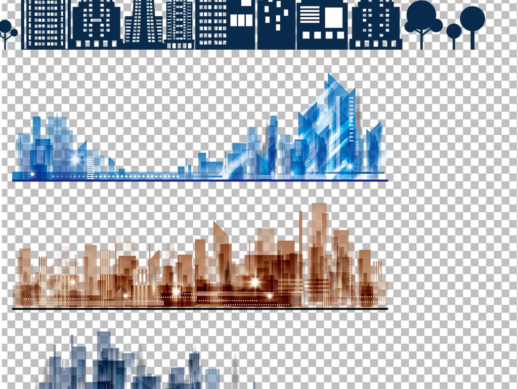 卡通建筑建筑设计手绘建筑欧美建筑大厦大楼上海楼宇写字楼建筑速写