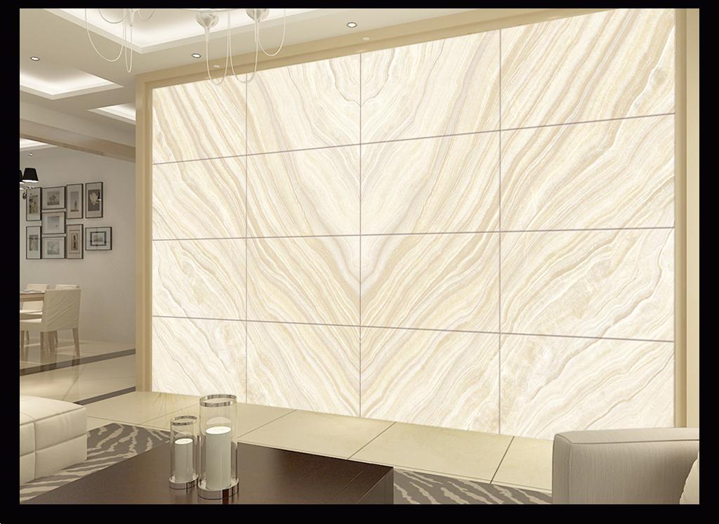 黄木纹高温烧大理石纹欧式花纹石材背景墙图片