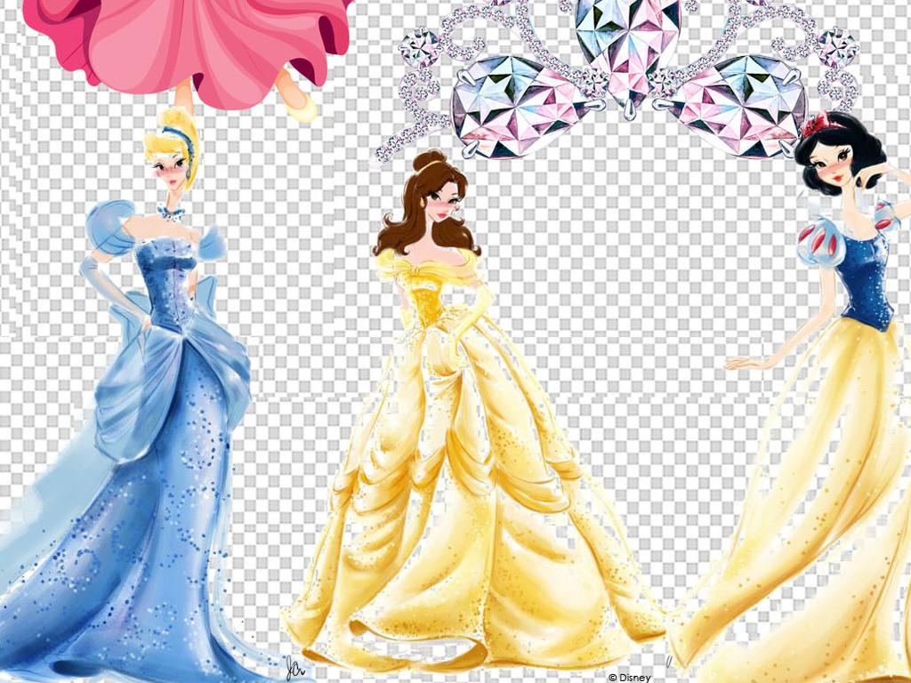 手绘插图                                  人物设计女神小公主