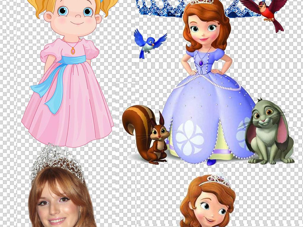 唯美卡通童话世界公主美女人物设计