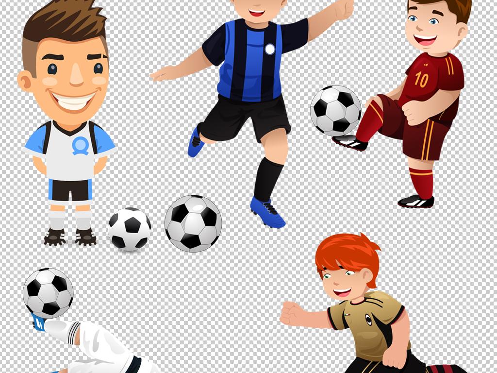 设计元素 人物形象 儿童 > 卡通男孩足球小子素材png  版权图片 设计