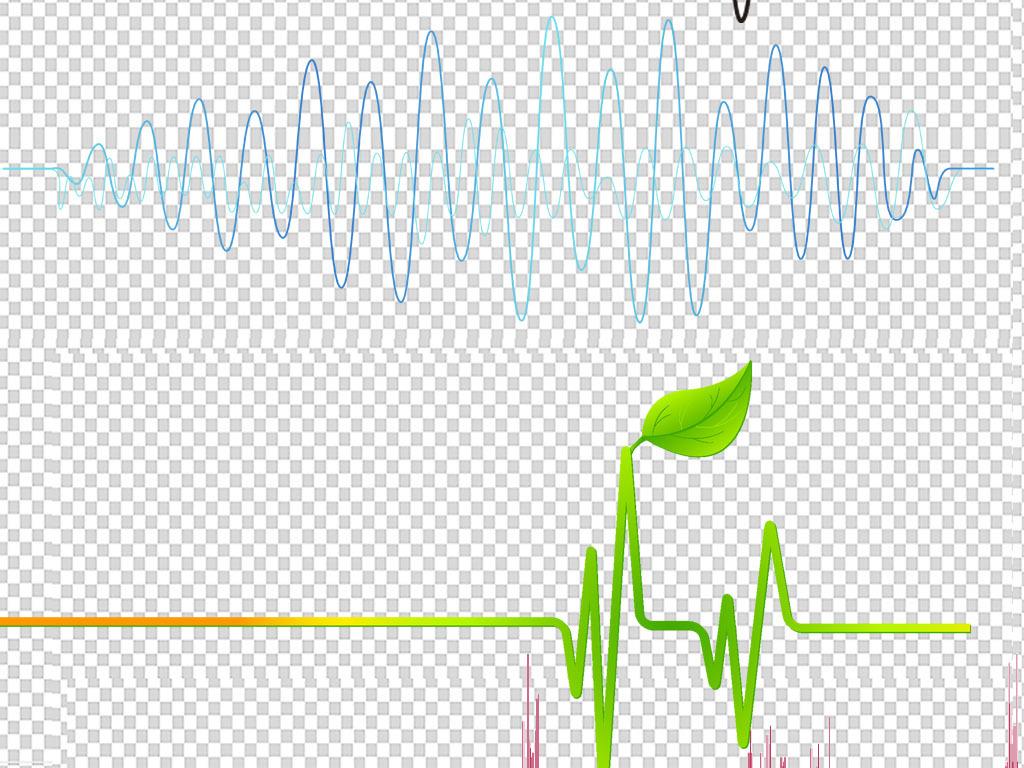 节奏图频率素材透明音波声波声音素材音乐背景音乐符音乐元素音乐喷泉