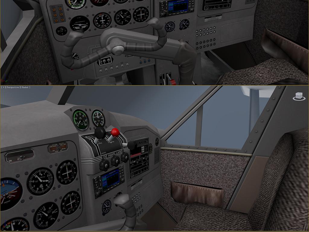 民用小飞机3d模型