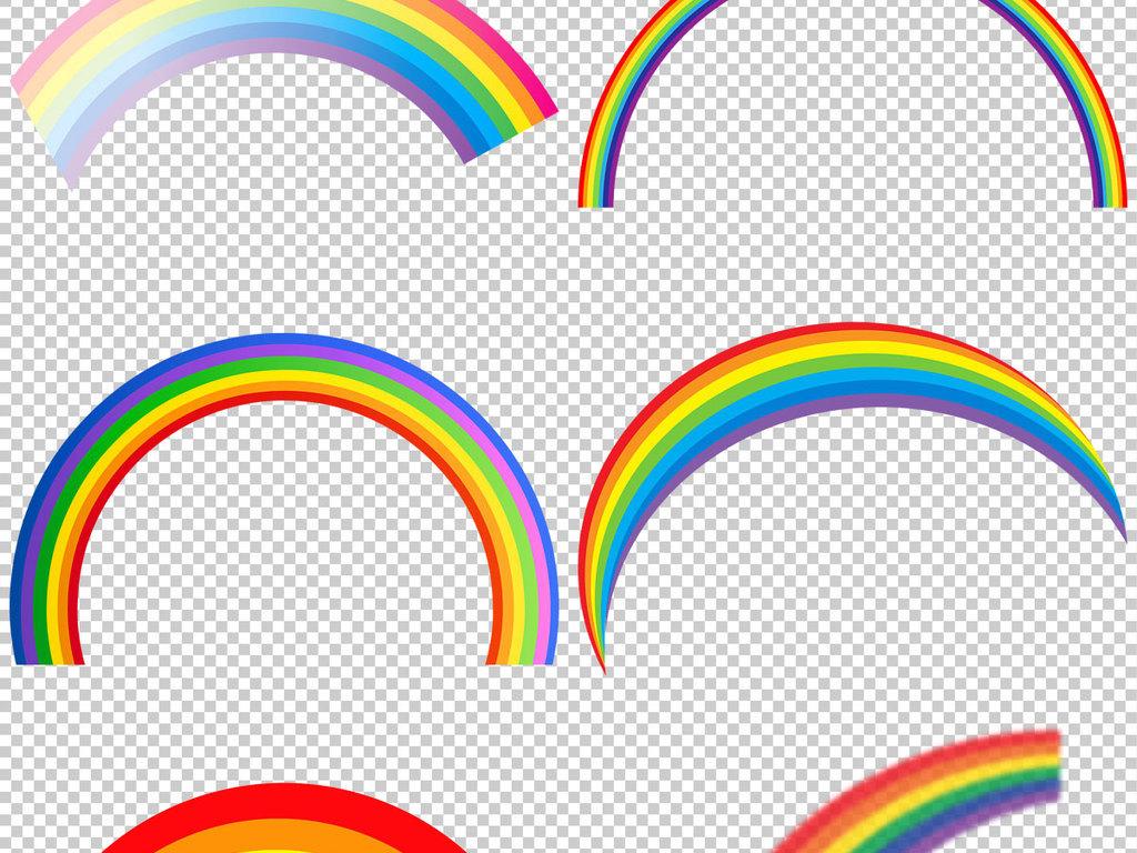 彩虹图片唯美意境彩虹                                  卡通图片