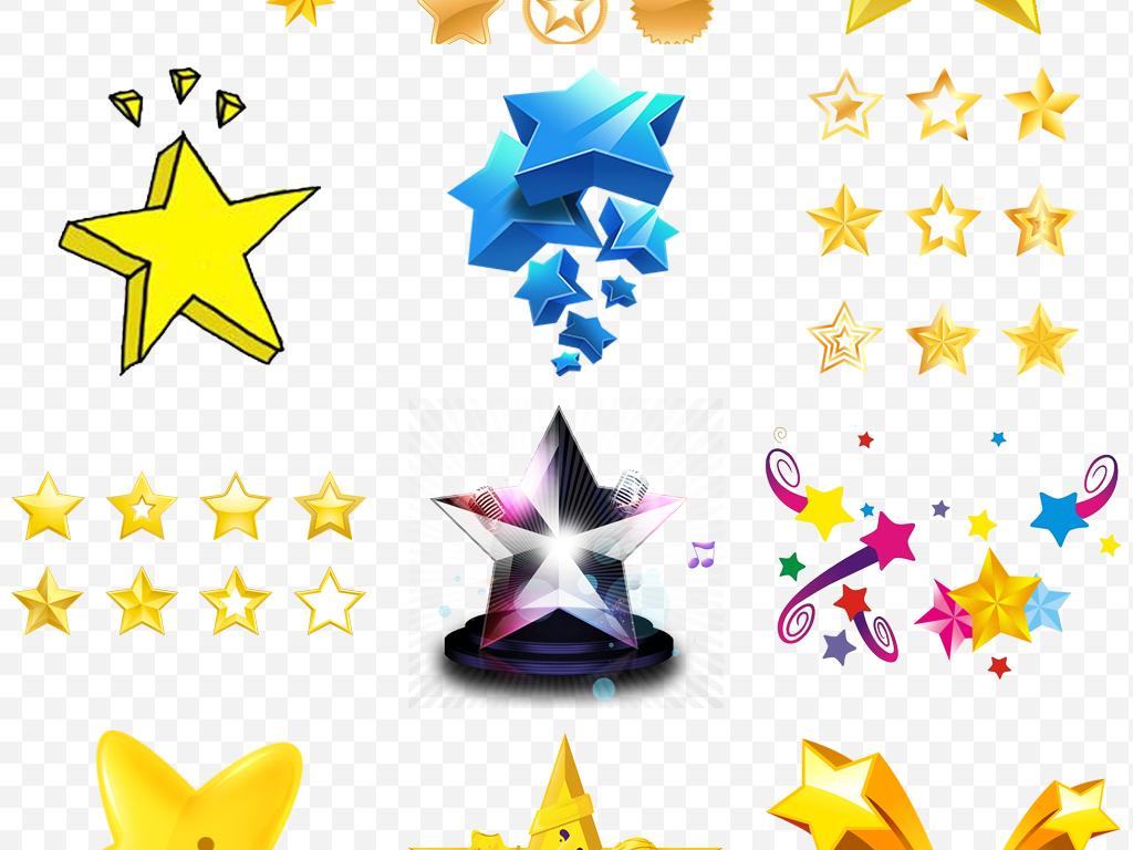 星星素材手绘卡通五角星卡通素材卡通手绘卡通星星手绘素材星星素材五