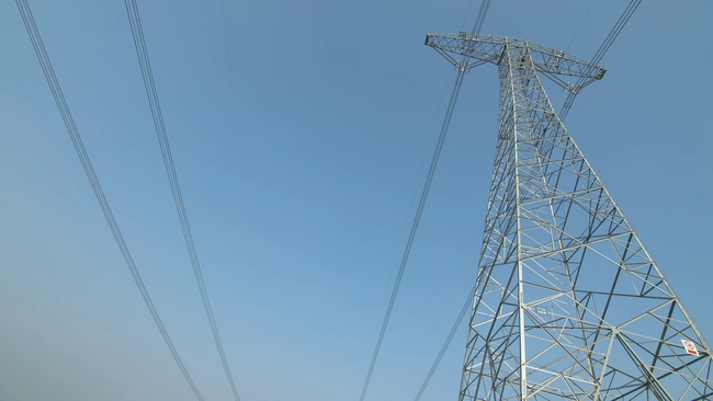 高压线塔用电电力发展