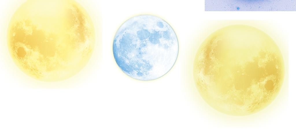 中秋月亮png素材图片