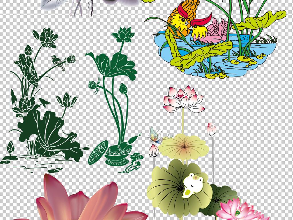 图标png图剪影手绘矢量图免抠图高清晰中式素材免抠素材中式素材江南图片