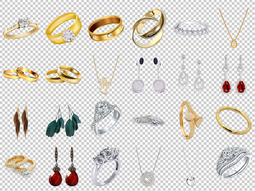珠宝首饰图片古代首饰图片首饰手绘首饰海报