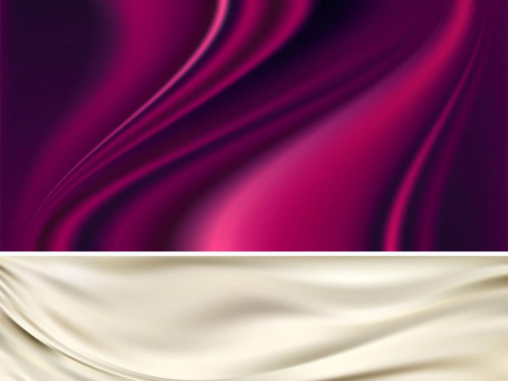 矢量丝绸布艺绸缎质感背景图片