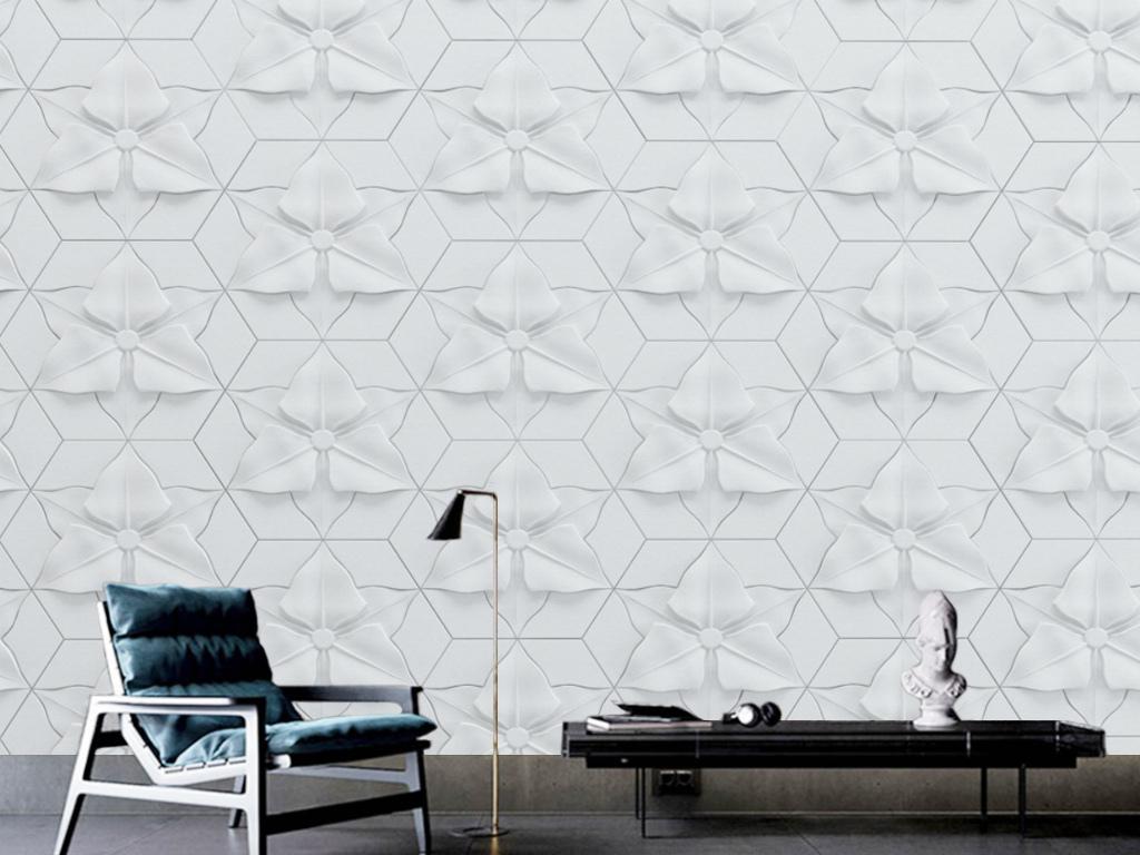 背景墙|装饰画 电视背景墙 手绘电视背景墙 > 欧式现代简约方块几何