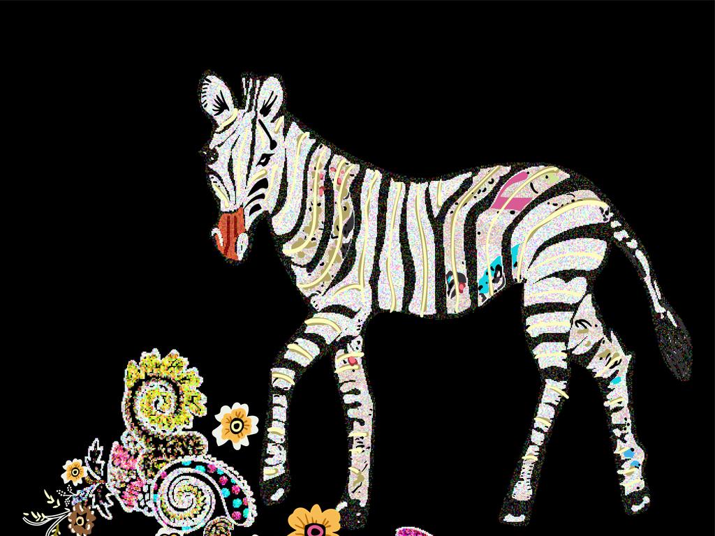 大牌服装图案设计图片下载ai素材-动物图案-我图网