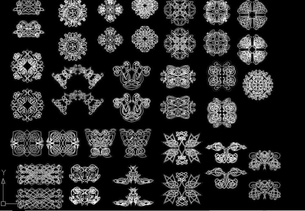 中式元素图案图片