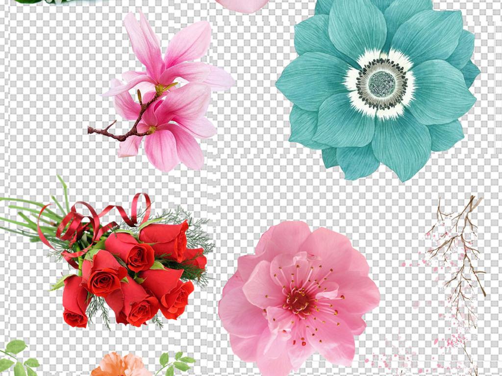花唯美桃花樱花玫瑰花瓣新年节日喜庆活动图片素材 模板下载 53.66