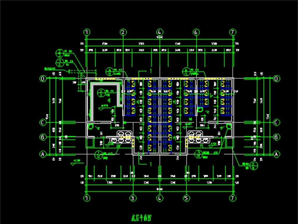 建筑设计 cad图纸  建筑图纸 > 公厕cad建筑施工图