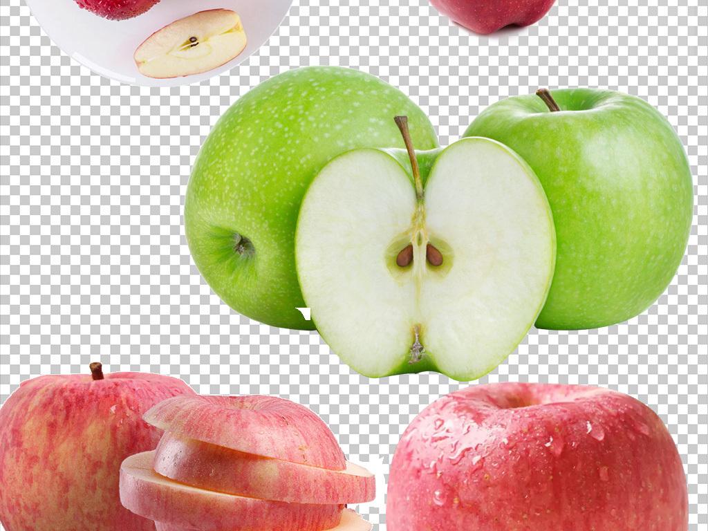 红苹果水果苹果一篮苹果png素材下载