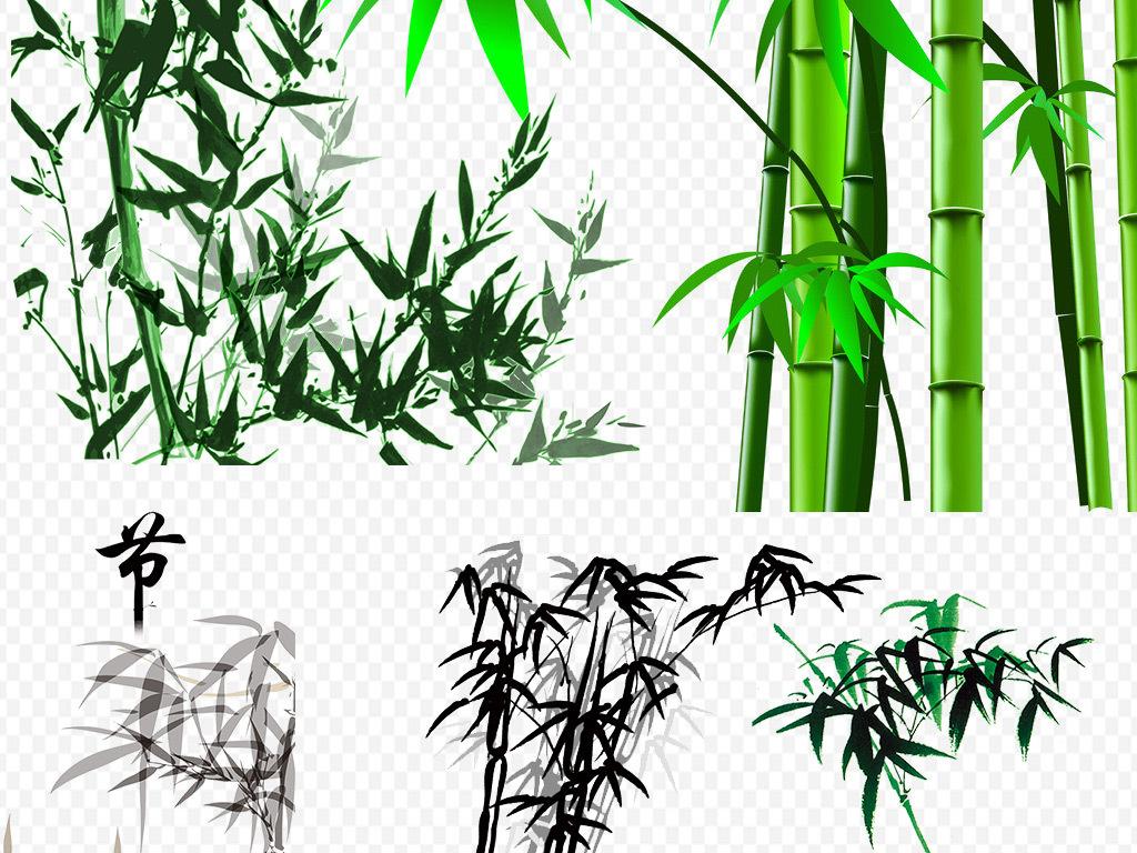 卡通竹子                                  手绘竹子