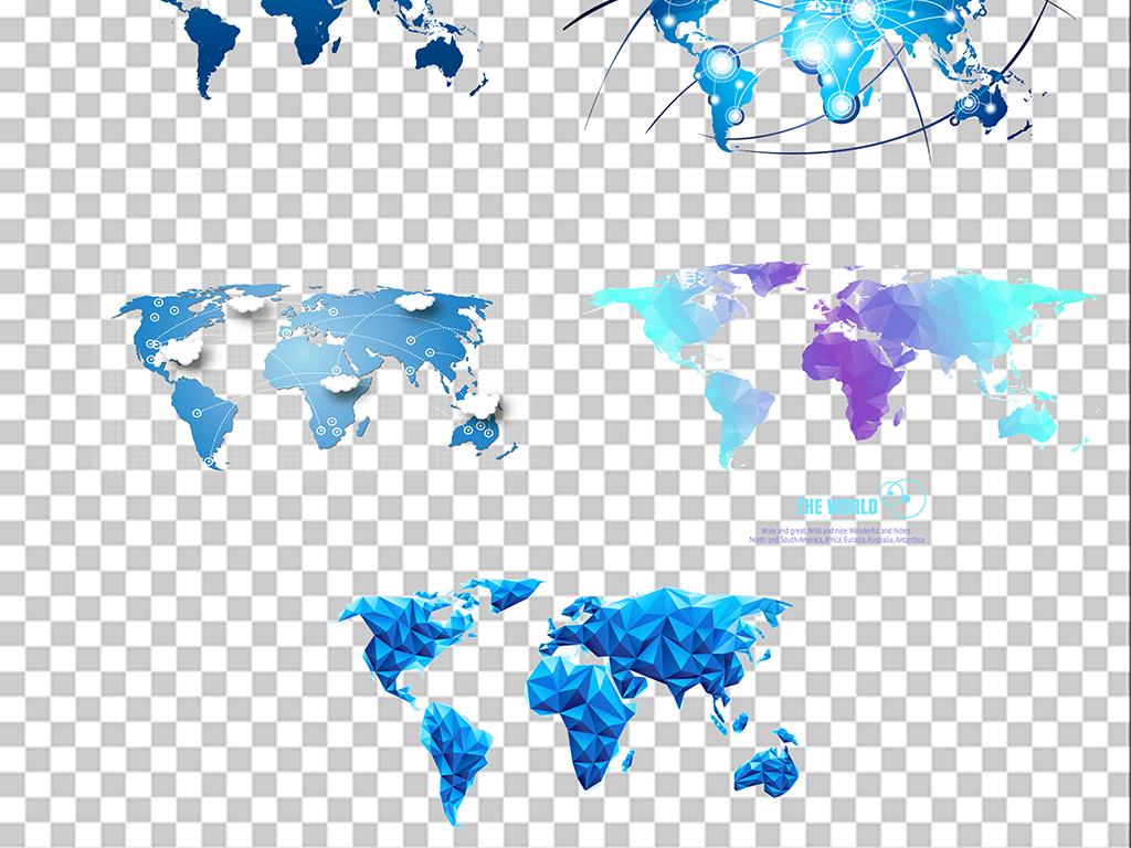 中国地图免扣png素材素材