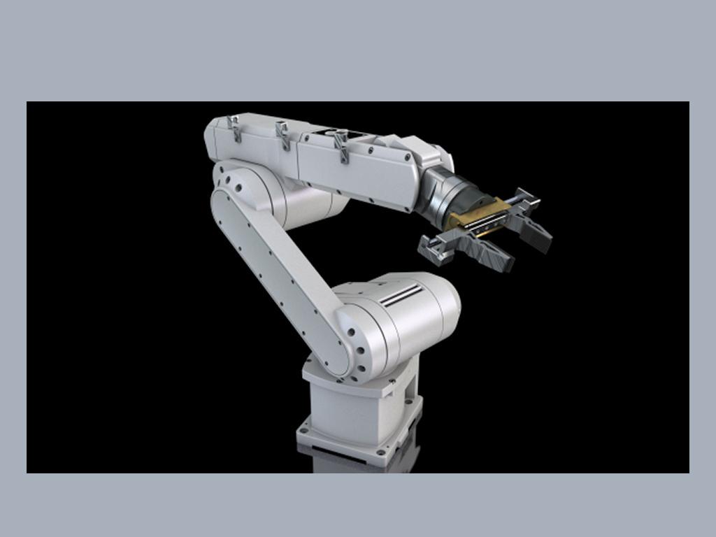 3d机械臂模型