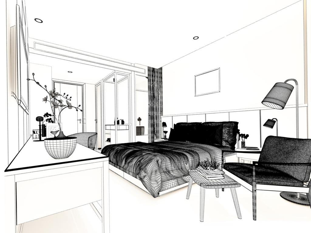 房间简笔画图片大全