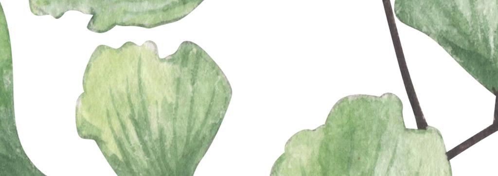 背景墙|装饰画 无框画 植物花卉无框画 > 北欧小清新手绘树叶美女装饰