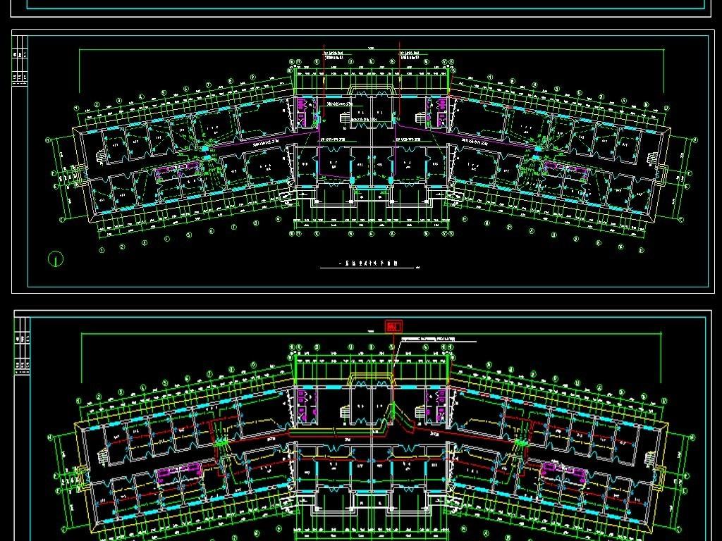 综合办公楼CAD电气设计图
