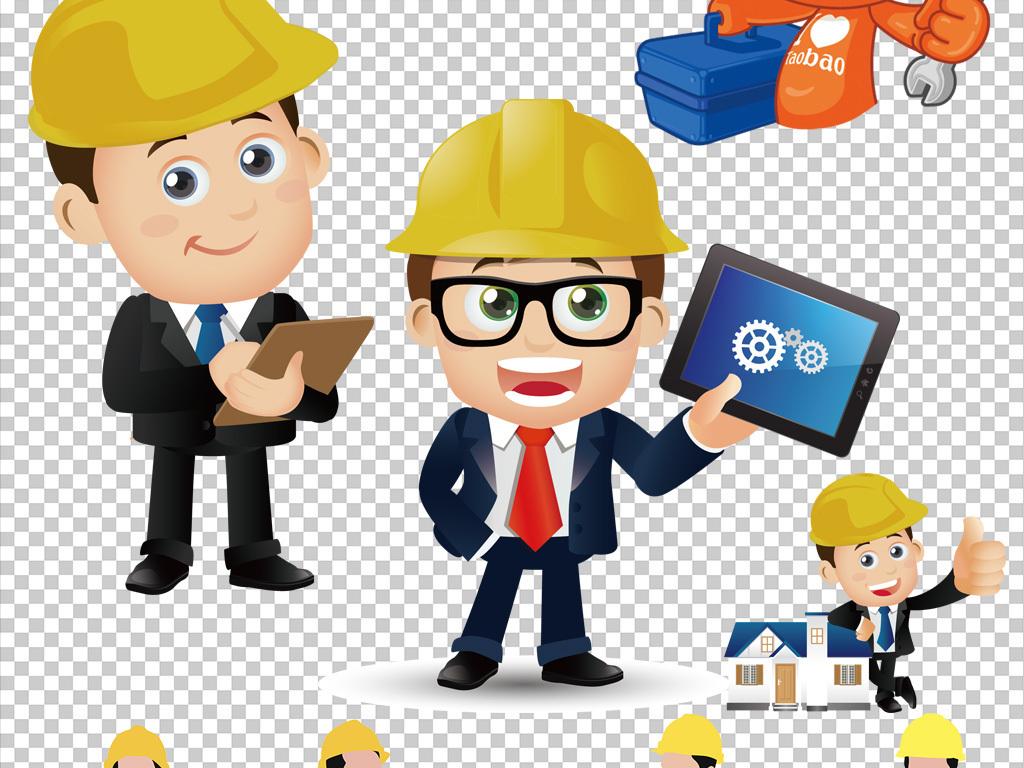 png)真实人物素材销售工程师电力工程师职业工程师