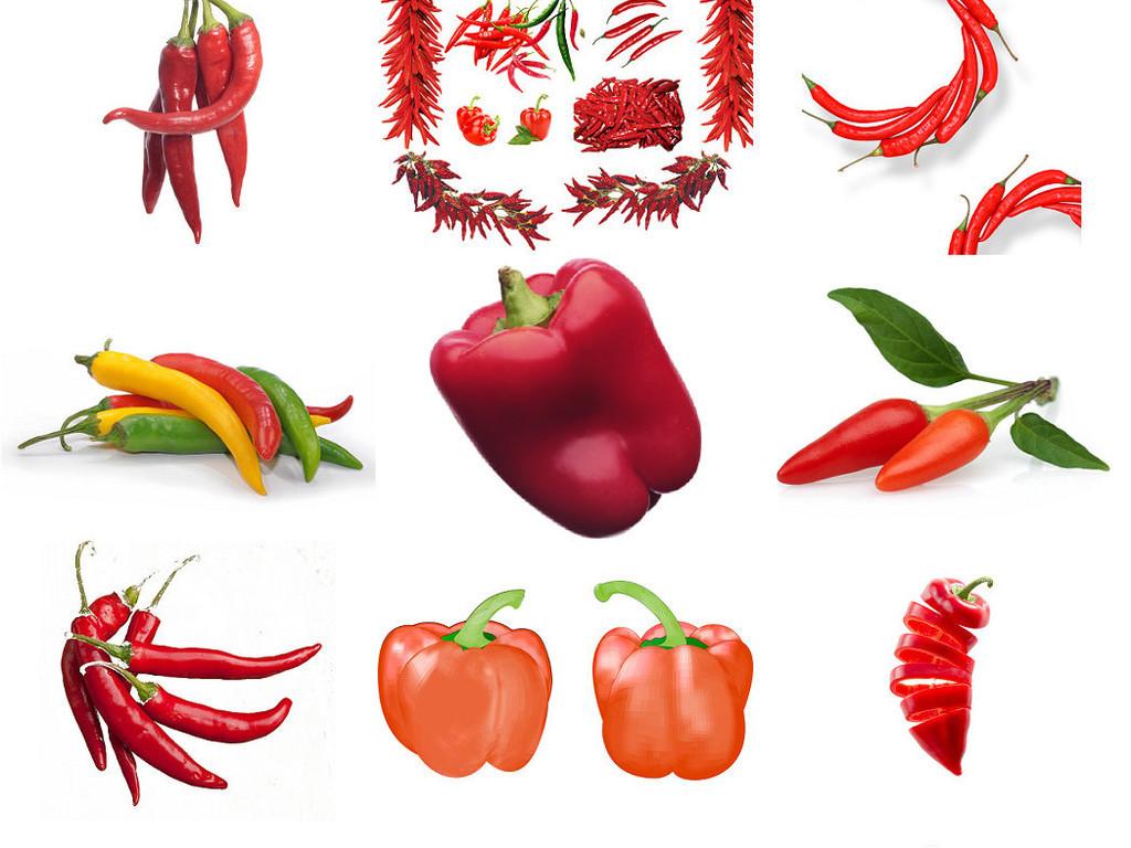 小辣椒红辣椒蔬菜辣椒卡通辣椒1图片下载png素材-效果