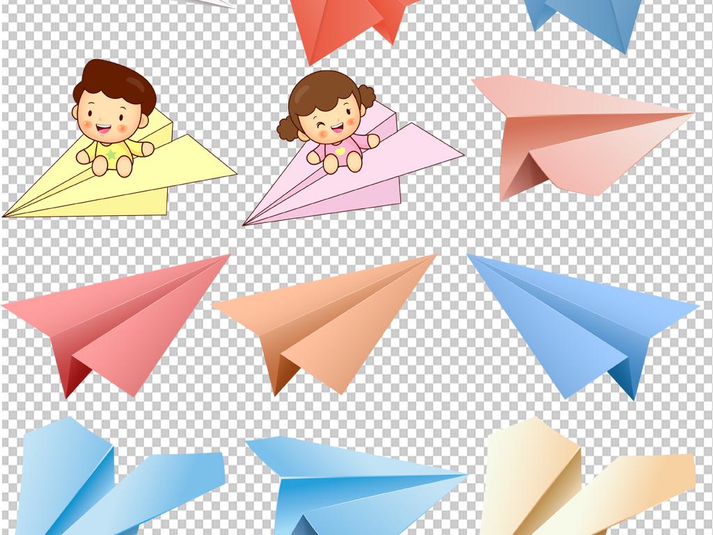 素材素材飞机飞机纸飞机纸飞机图片卡通纸飞机纸飞机天空手绘纸飞机