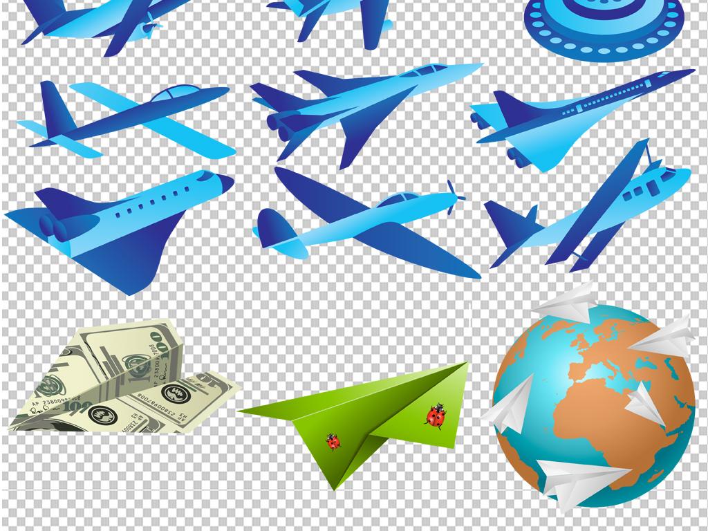 手绘矢量图免抠图高清晰素材飞机免抠素材飞机素材纸飞机素材素材飞机