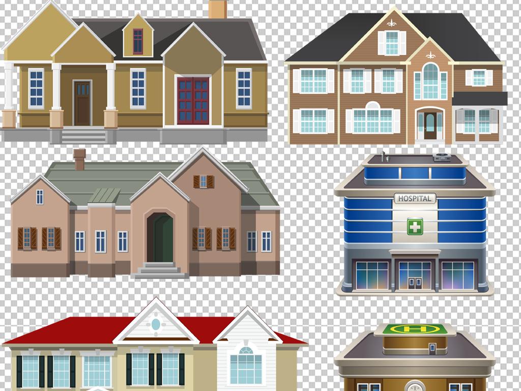 3d手绘教程房子