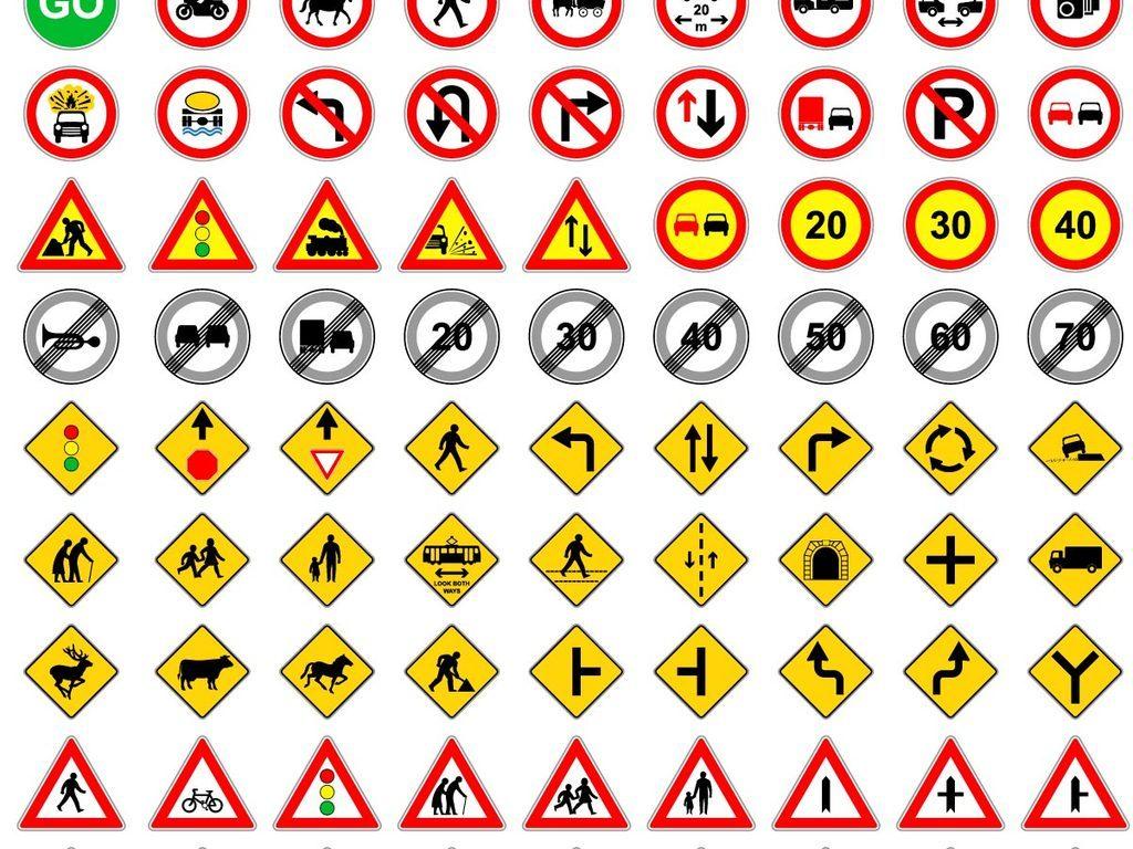 5000款交通行业标志工具图标icon