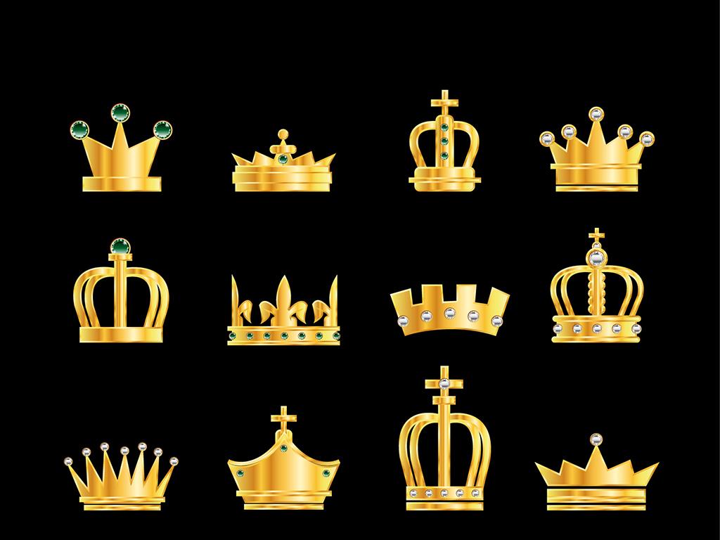 金色皇冠图标设计
