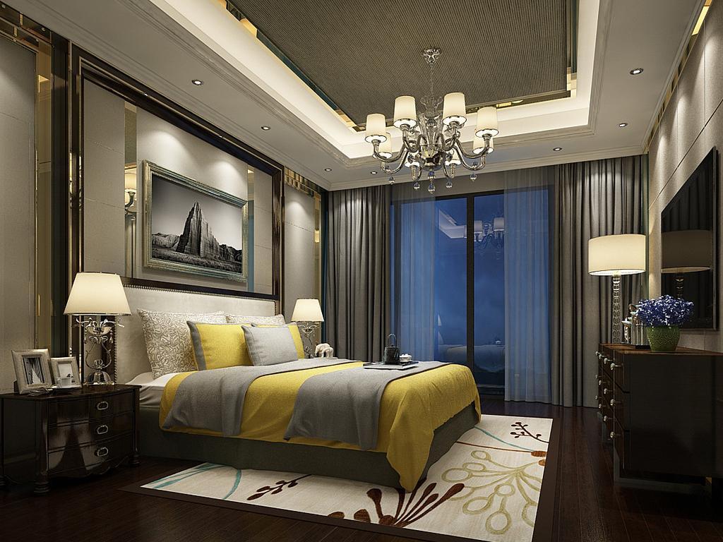 时尚卧室设计81245图片