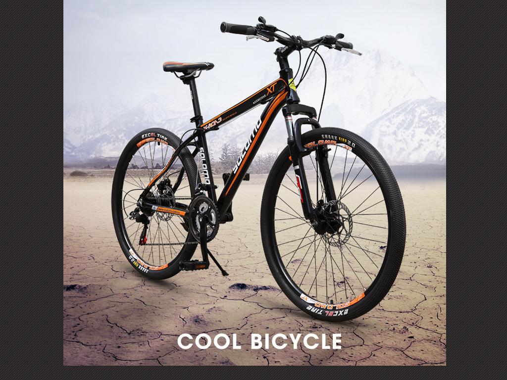 背包自行车山地车户外产品详情首图主图模板