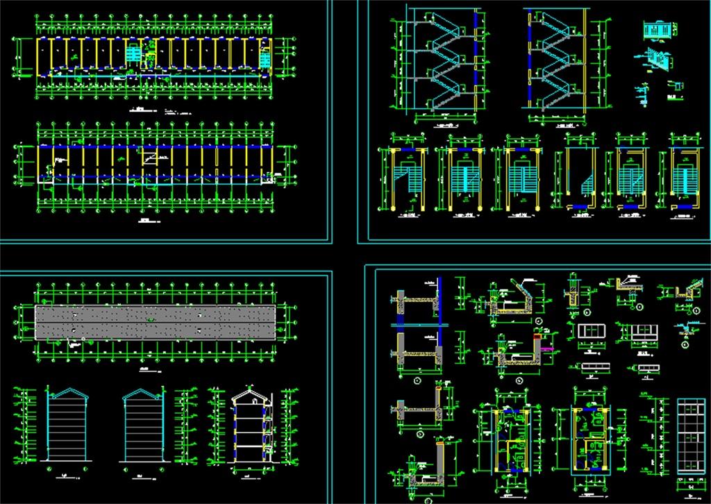 某多层办公楼CAD全套图纸