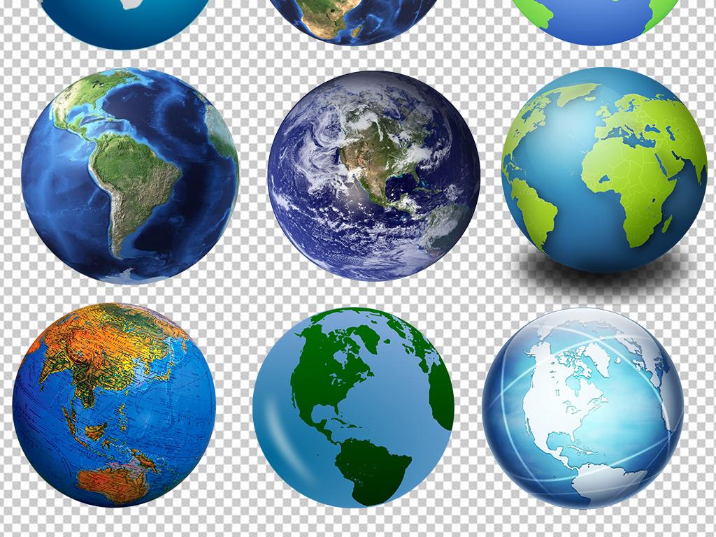 卡通地球                                  手绘地球