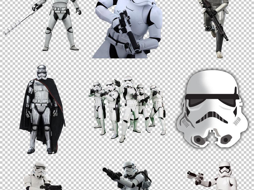 设计元素 人物形象 动漫人物 > 星球大战冲锋队免抠png透明图层素材