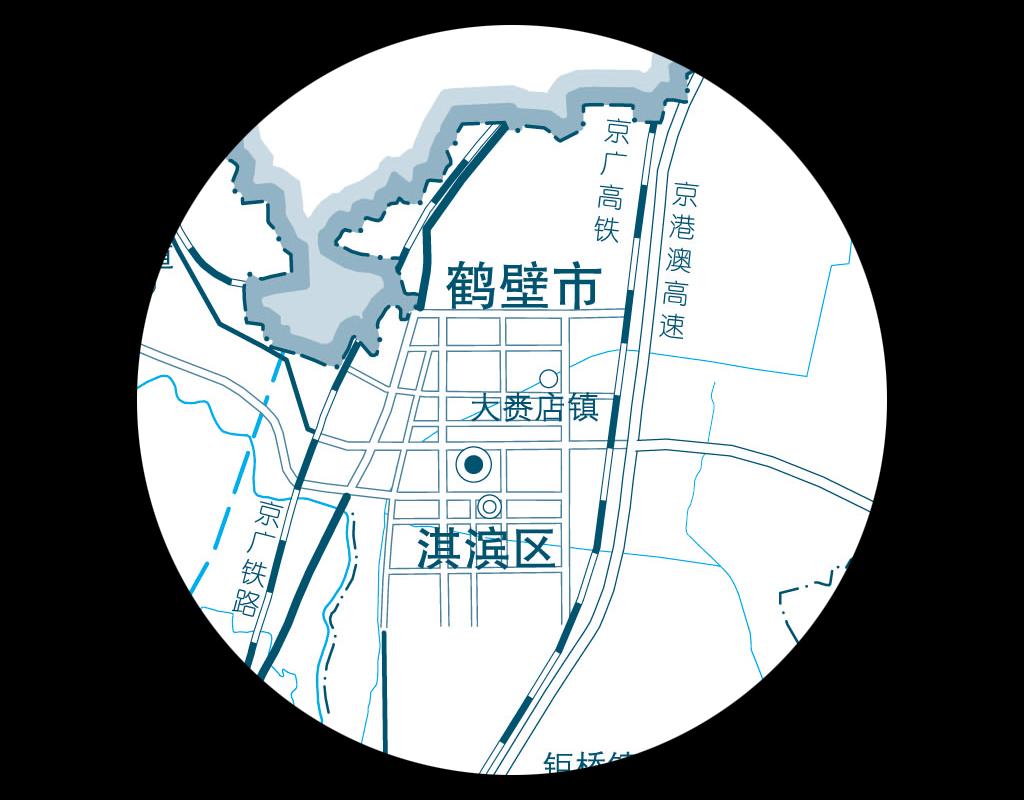 鹤壁市地图高清大图