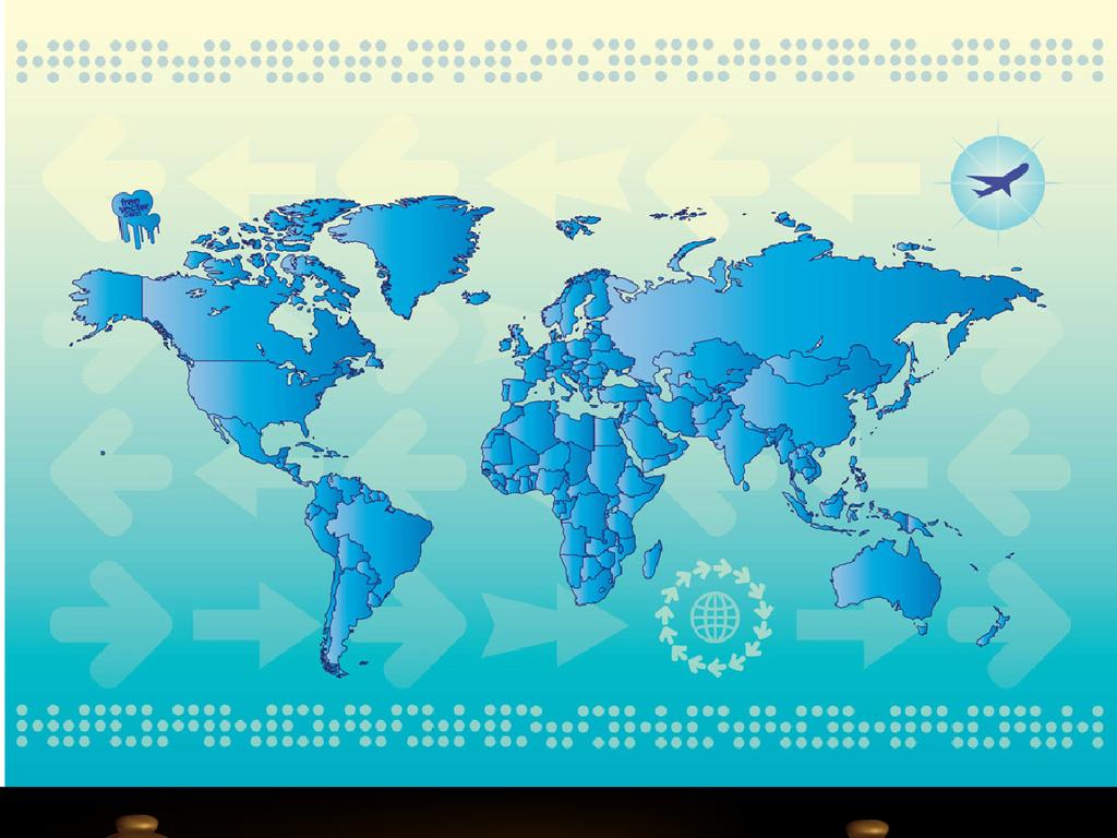 矢量世界地图世界地图主体矢量世界地图剪影世界地图素材世界地图下载