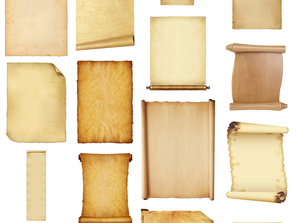 古代书卷边框高清