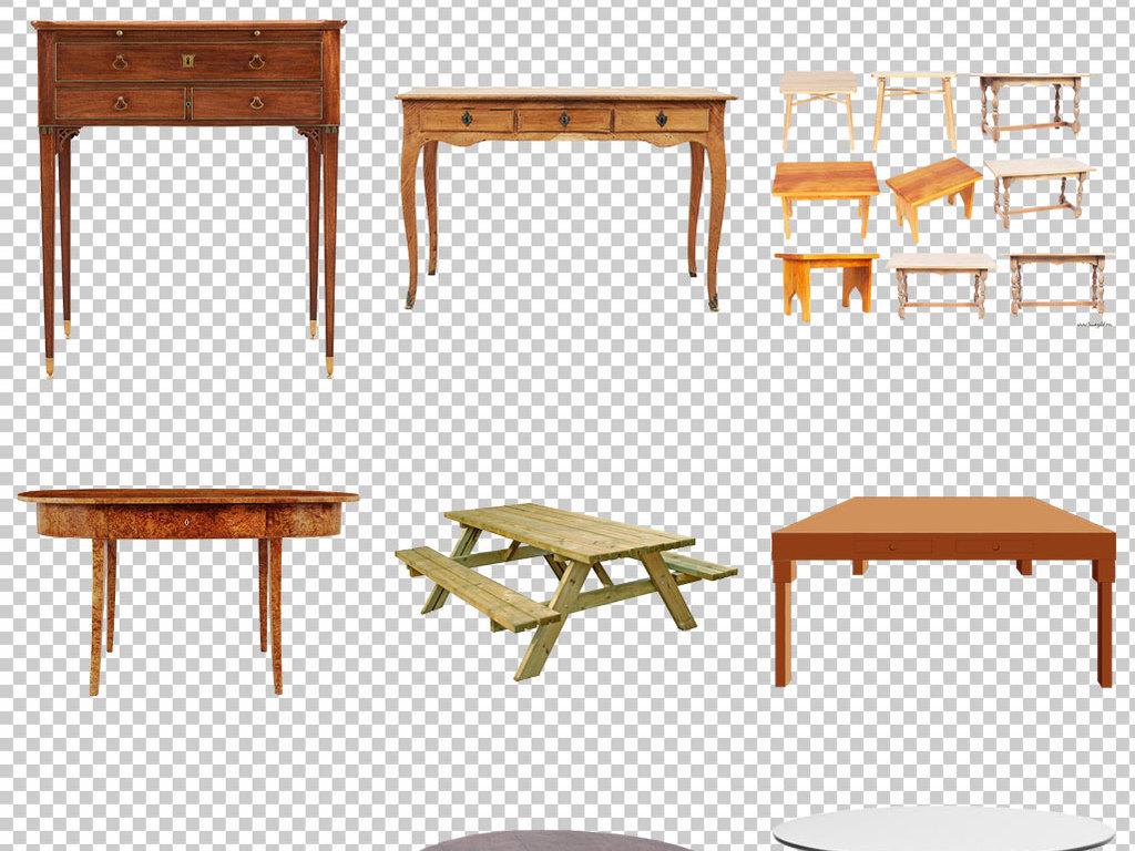 平面素材简约小清新桌子背景美式桌子小清新桌子卡通桌子图片木头桌子
