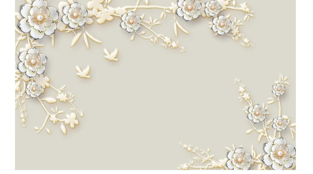 背景墙|装饰画 电视背景墙 现代简约电视背景墙 > 牡丹素雅花朵玉雕欧图片