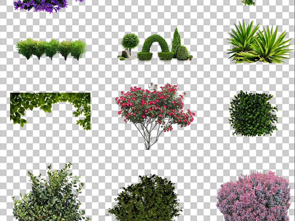 免抠素材图片自然图标>树木设计素材景观树叶素材png免扣园林ps图片素材ui元素小v素材图片